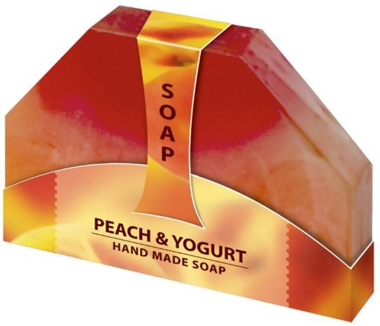 Biofresh Glycerínové mydlo broskyňa a jogurt ručne vyrabané 80g