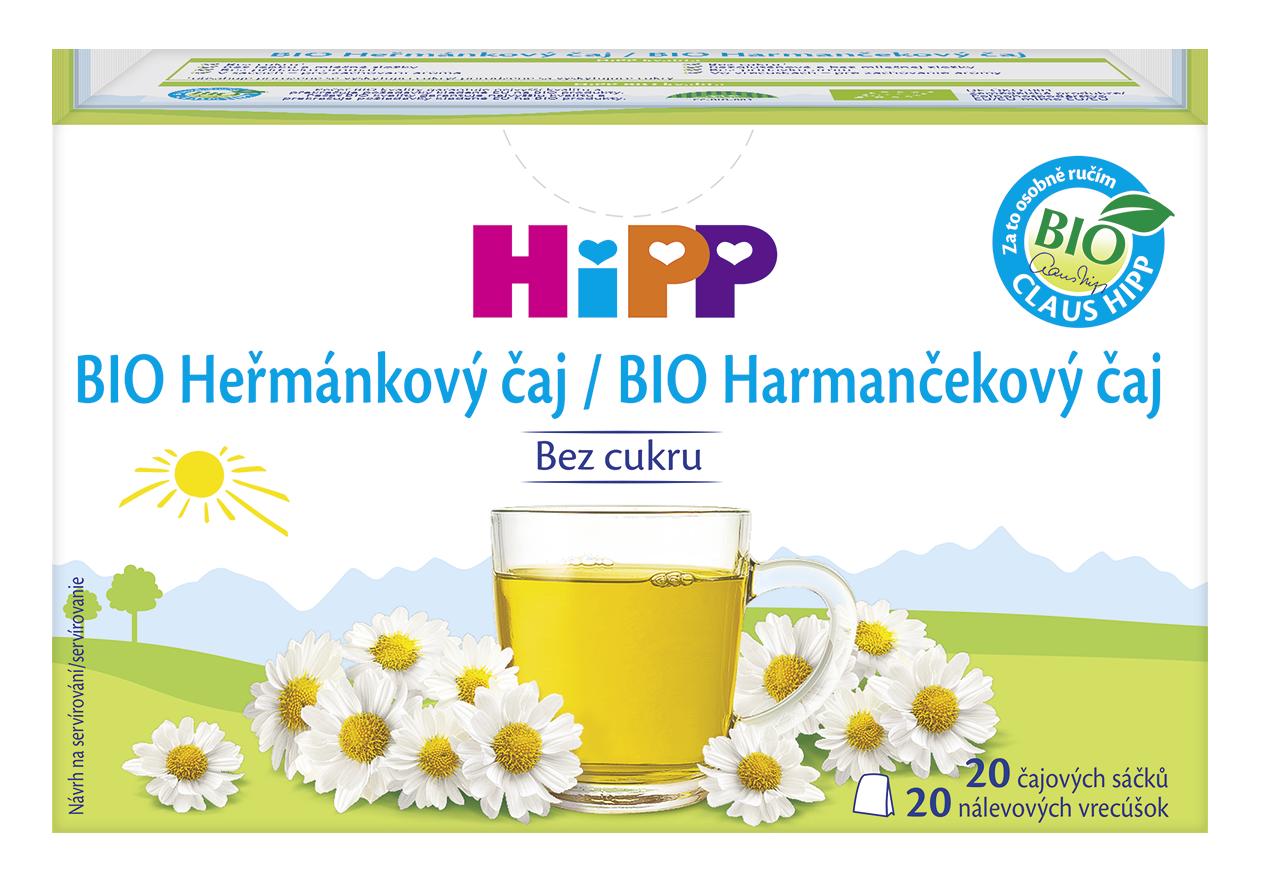 HiPP BIO Harmančekový čaj nálevové vrecúška 20x1,5g
