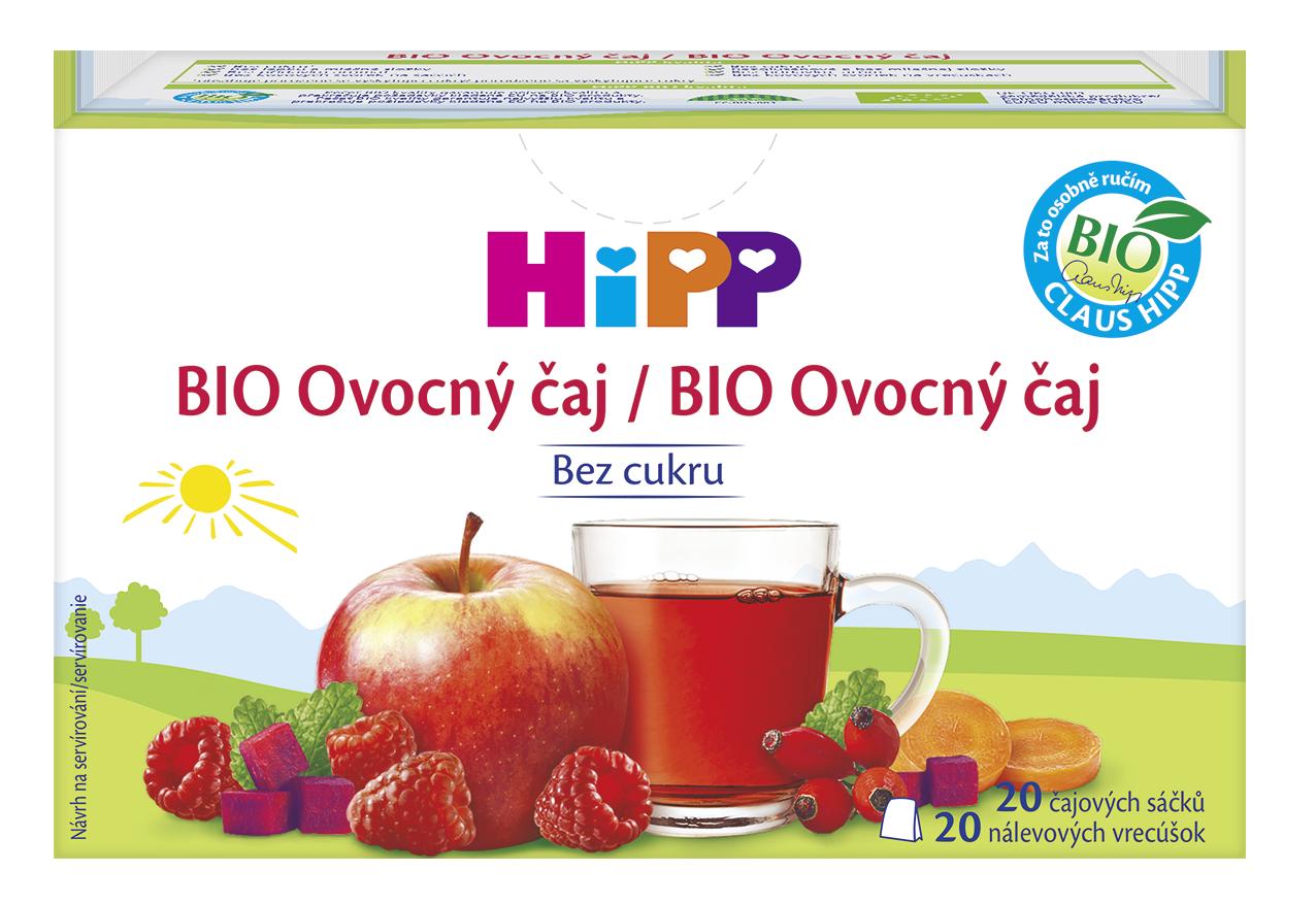 HiPP BIO Ovocný čajnálevové vrecúška 20x2g