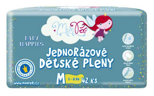 MonPeri Klasik plienky M/ 5-8 kg