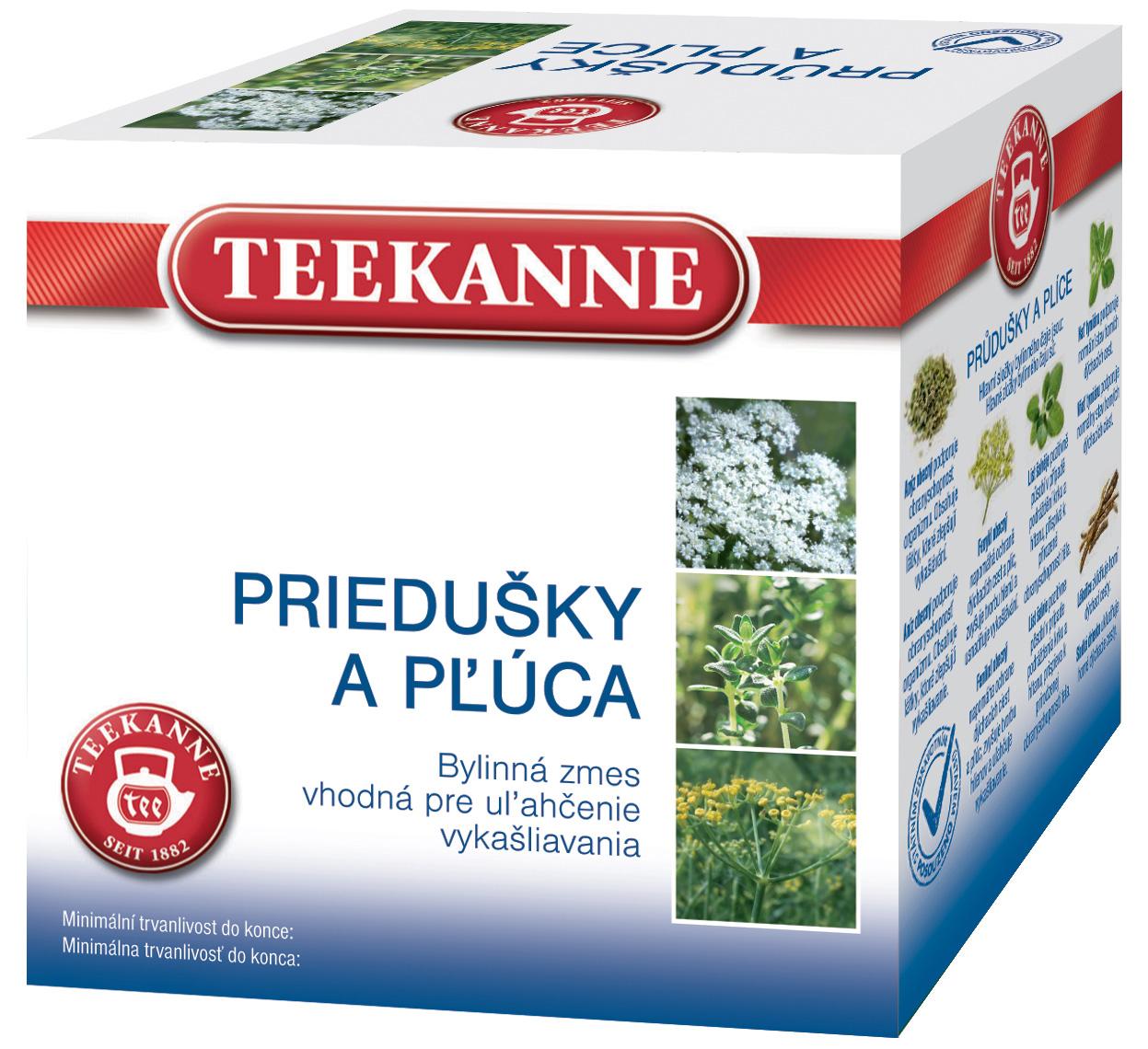Teekanne BČ Kašeľ a priedušky bylinný čaj 10x2g