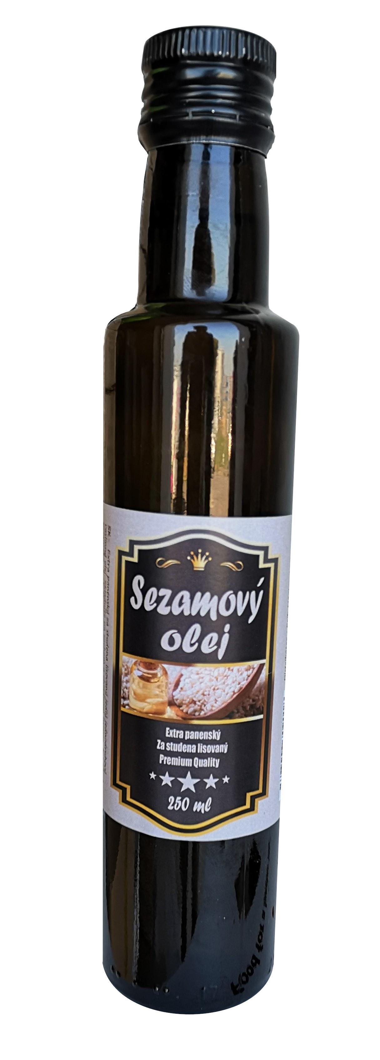 NAJTELO sezamový olej extra panenský sklo 250ml