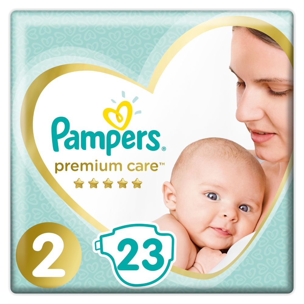 Pampers Premium Care S2 23ks, 4-8kg