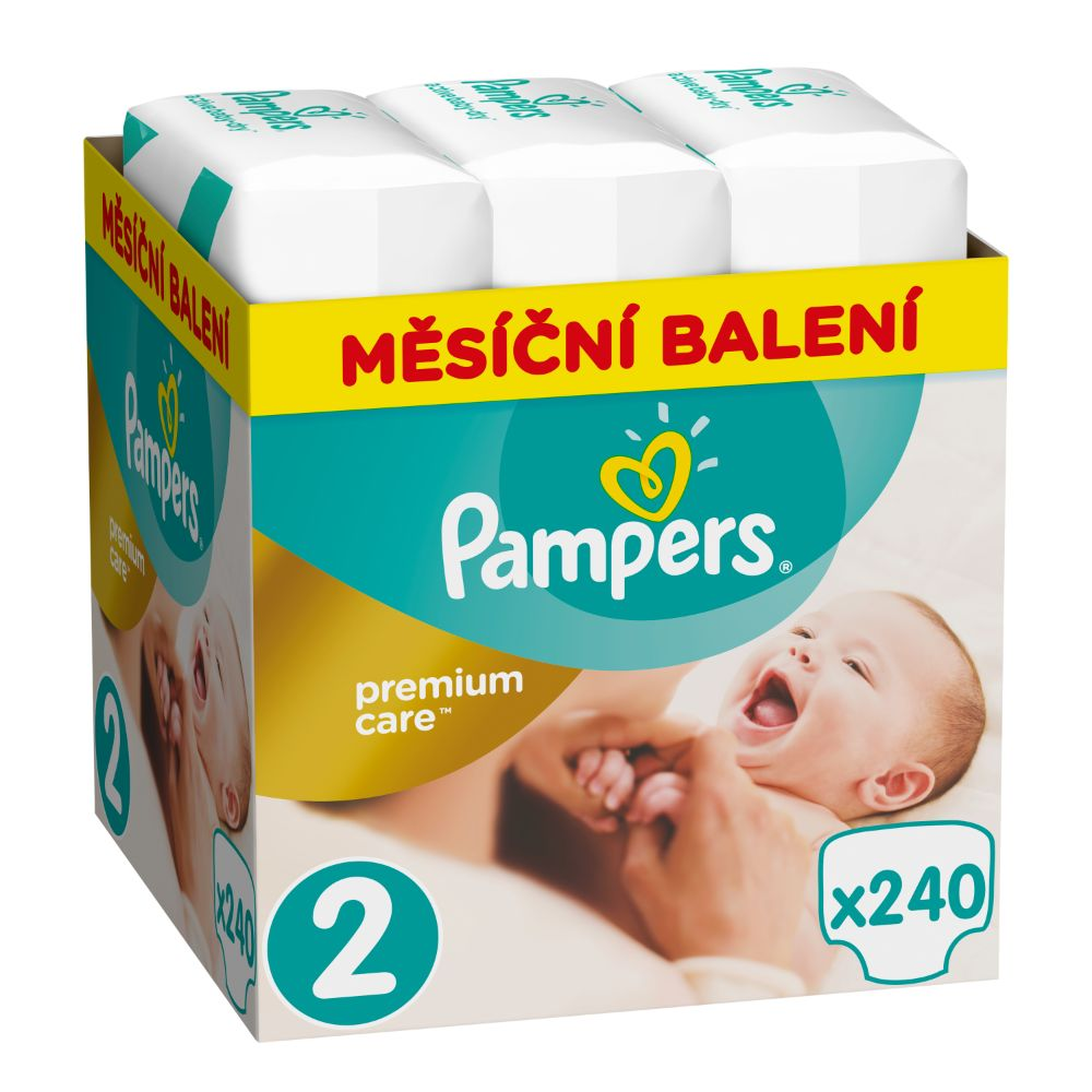 Pampers Premium Care S2 240ks, 4-8 kg