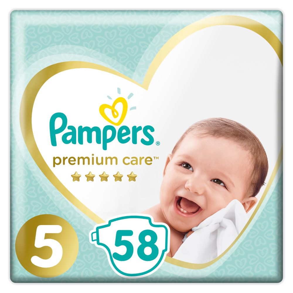 Pampers Premium Care S5 58ks, 11kg-16kg