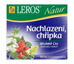 Leros Natur prechladnutie, chrípka 10x1,5g