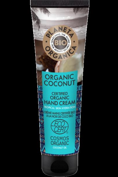 Planeta Organica Krém na ruky Kokosový orech 75ml