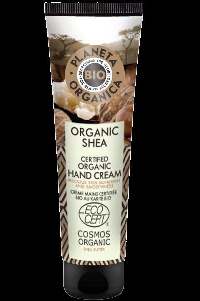 Planeta Organica Krém na ruky Bambucké maslo 75ml