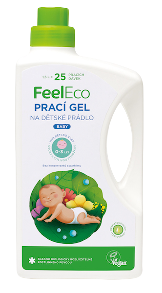 Feel Eco prací gél Baby 1,5l