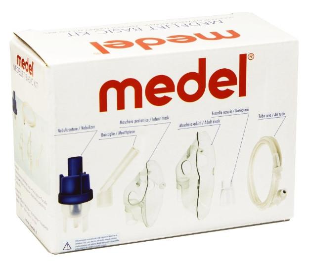 MEDEL MEDELJET Sada inhalačného príslušenstva pre MEDEL Family, MEDEL Easy a MEDEL Star.
