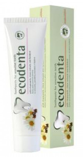 Zubná pasta pre citlivé zuby s harmančekom, klinčekmi a Kalidentem (Toothpaste For Sensitive Teeth) 100ml