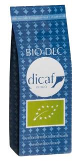 DiCAF Káva mletá bez kofeinu 250g - bio