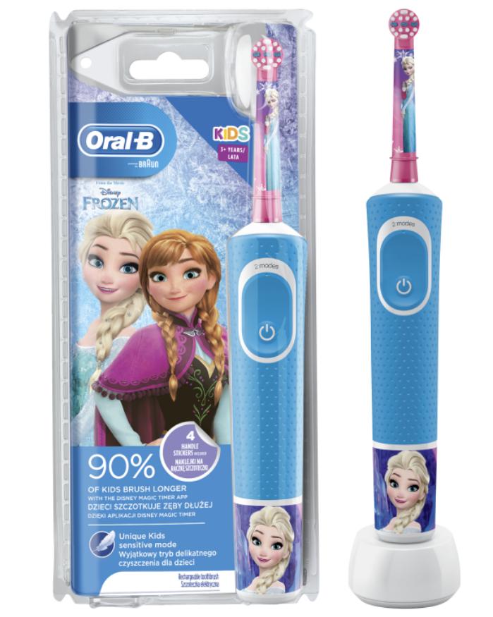 Oral-B Elektrická zubná kefka Vitality 100 Kids 3+ Frozen
