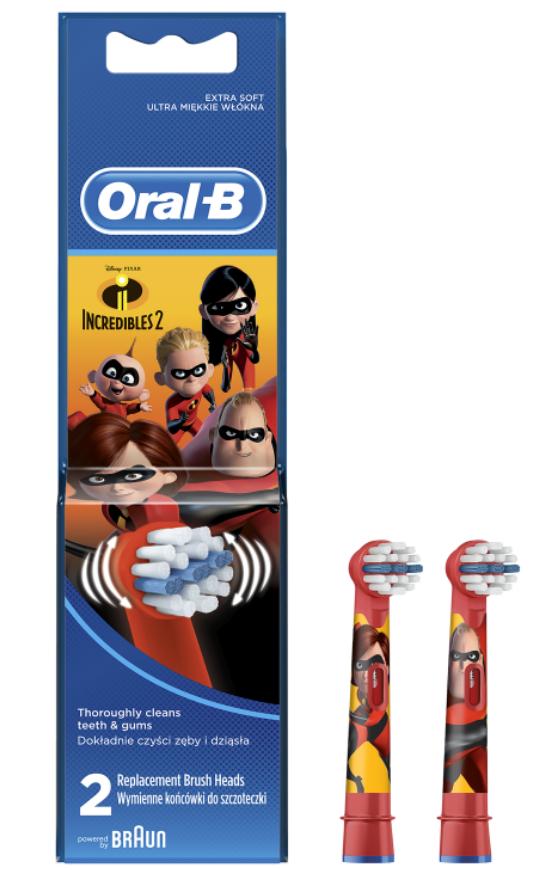 Oral-B Kids Incredibles Náhradné kefky 2ks