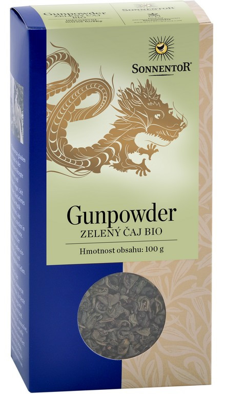 Sonnentor Zelený čaj Gunpowder sypaný 100g