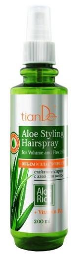 TianDe Sprej na vlasy s Aloe Objem a pružnost 200ml