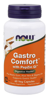 Now Foods Gastro Comfort s PepZin-Gl Zdravé trávenie 60 tabliet