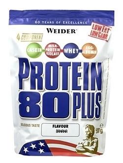 Weider Protein 80 Plus, 500g - banán