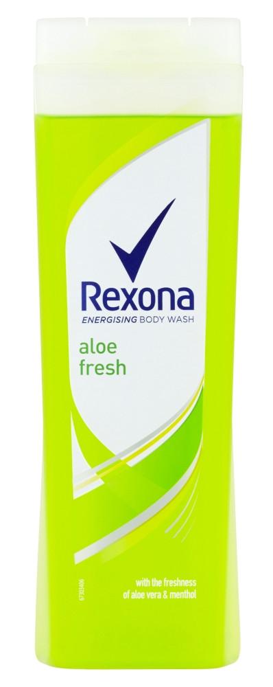 Rexona Aloe Fresh sprchový gél 400ml