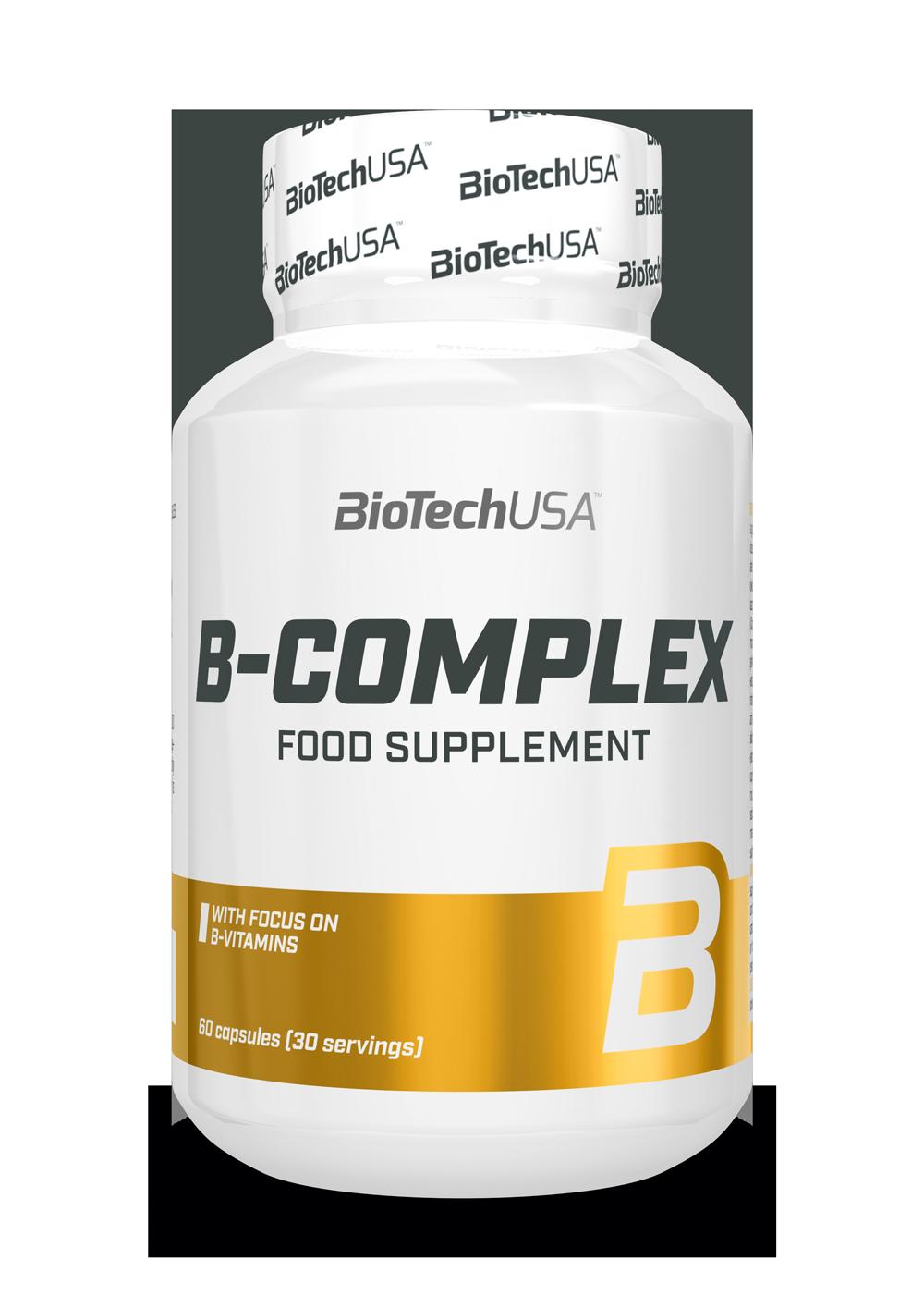 BiotechUSA B-Complex 60 tbl