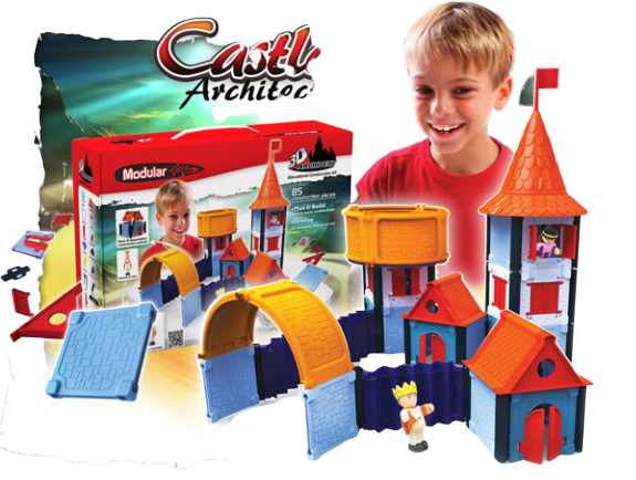 Modular Toys Hrad stavebnice pre chlapcov