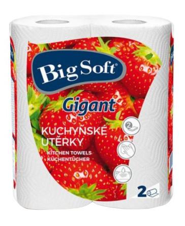 Big Soft Gigant Papierové kuchynské utierky 2ks