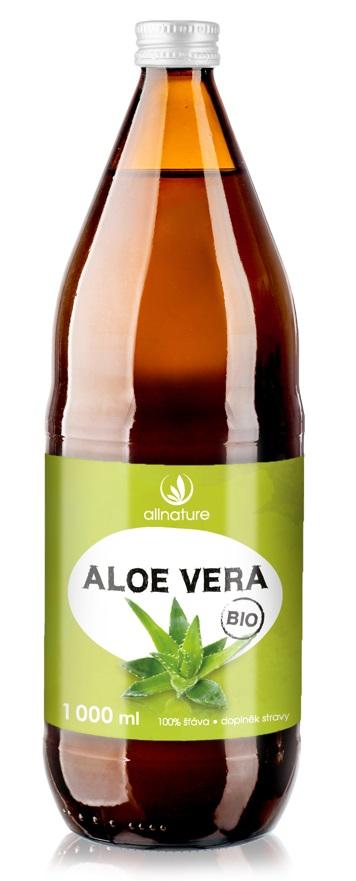 Allnature Aloe vera BIO 1000ml