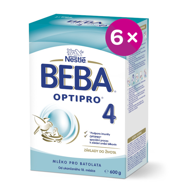 BEBA OPTIPRO 4 6x600g