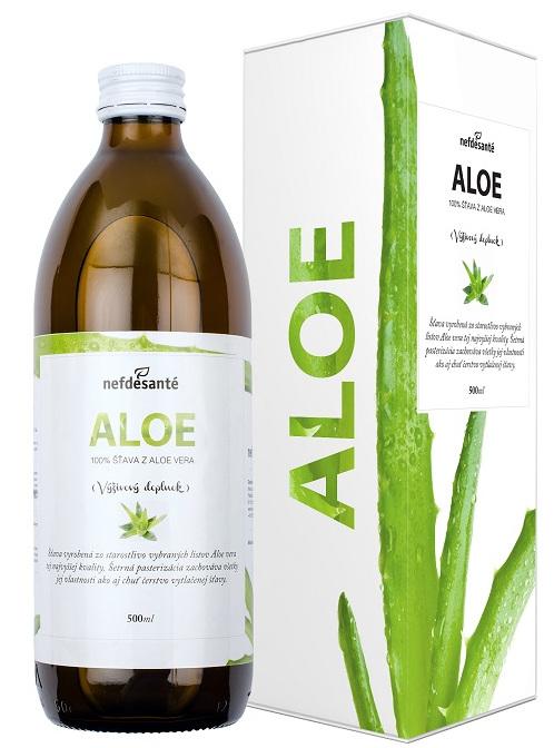nefdesanté ALOE šťava z Aloe Vera 500 ml