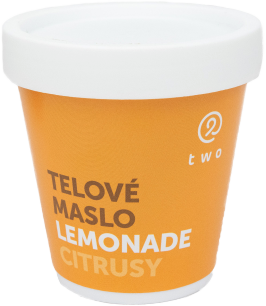 Two cosmetics LEMONADE telové maslo Two 200g