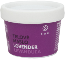 Two cosmetics LØVENDER telové maslo Two 100g