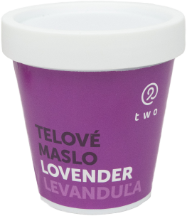 Two cosmetics LØVENDER telové maslo Two 200g