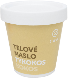 Two cosmetics TYKOKOS telové maslo Two 200g