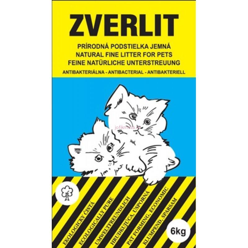 Zverlit Prírodná podstielka jemná pre mačiatka 6kg