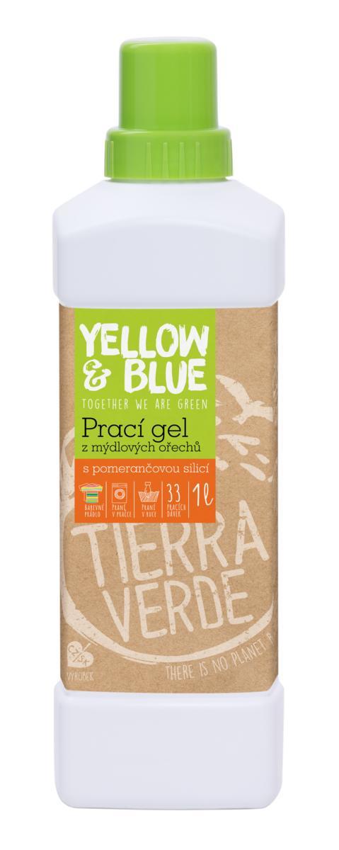 Tierra Verde Prací gél pomaranč 1l
