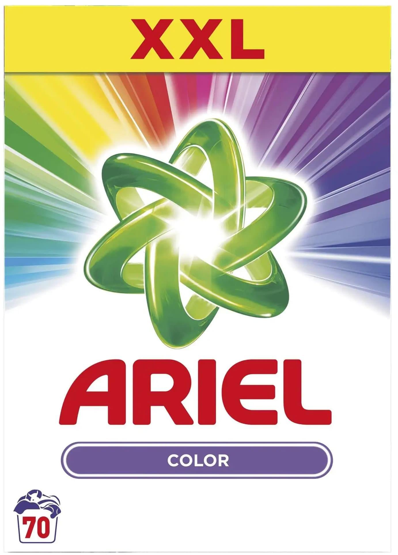 Ariel Color Prací Prášok 70 pracích dávok (5,25kg)