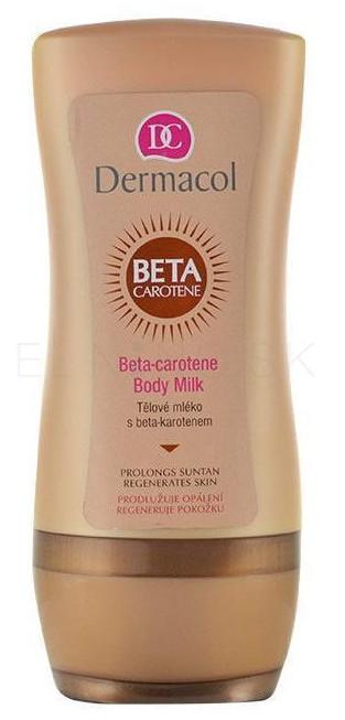 Dermacol Tělové mléko po opalování s beta-karotenem 200ml