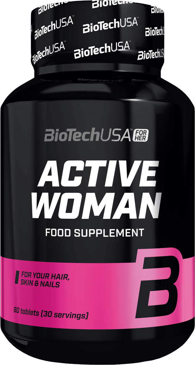 BiotechUSA ACTIVE WOMAN FOR (HER) 60 tbl -