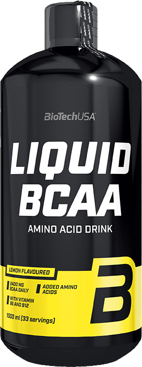 BiotechUSA Liquid BCAA mg (l) 1000 ml pomaranč
