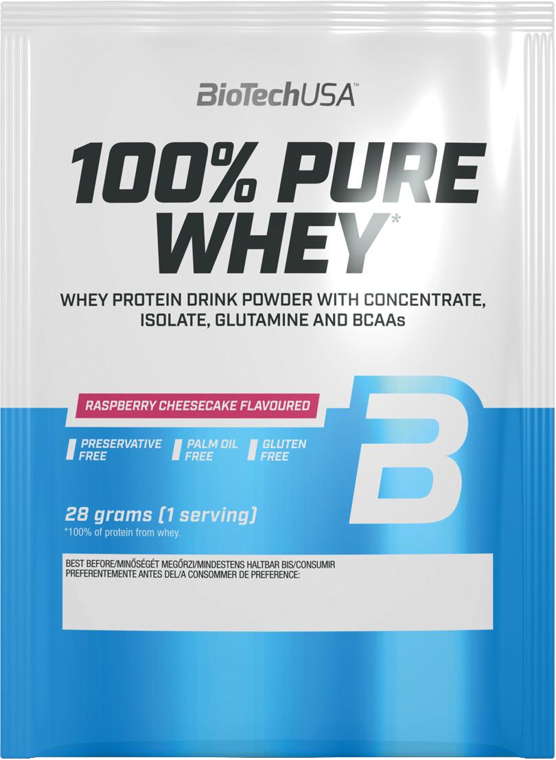 BiotechUSA 100% Pure Whey 28 g - mliečna ryža