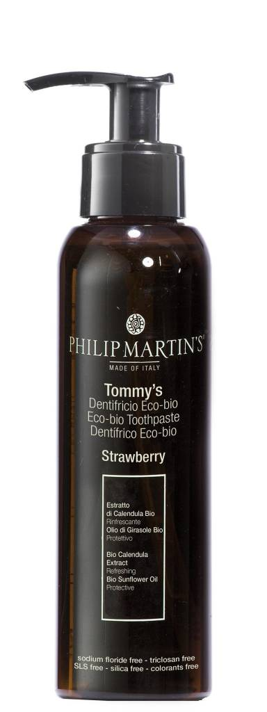 Philip Martins Tommy´s Strawberry Eco Bio Toothphaste 250 ml