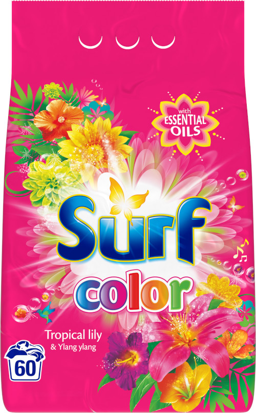 Surf Color prášok tropical 60 dávok 3,9kg