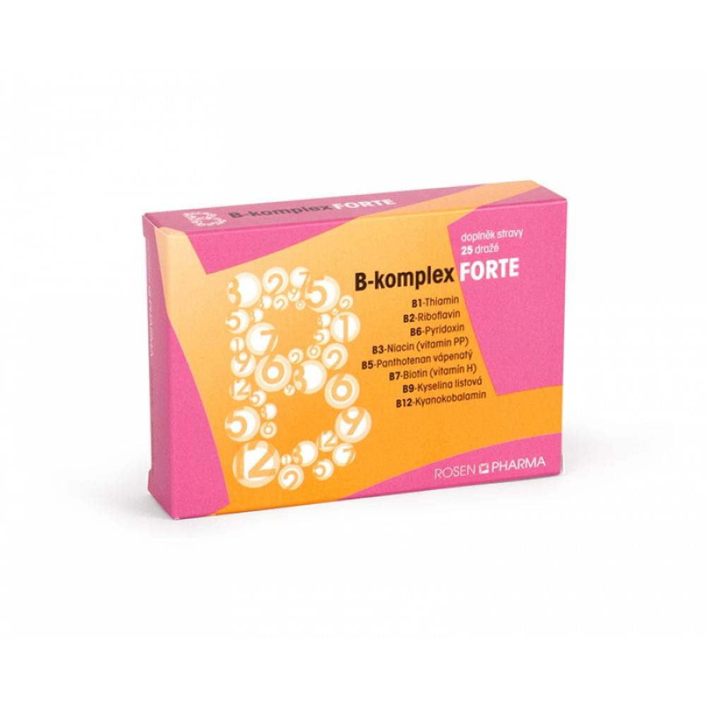 Rosen Pharma B - komplex forte rodinné balenie 100 ks