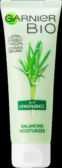 Garnier Vyvažujúci hydratačný krém pre normálnu až zmiešanú pleť BIO Fresh Lemongrass (Balancing Moisturizer) 50 ml