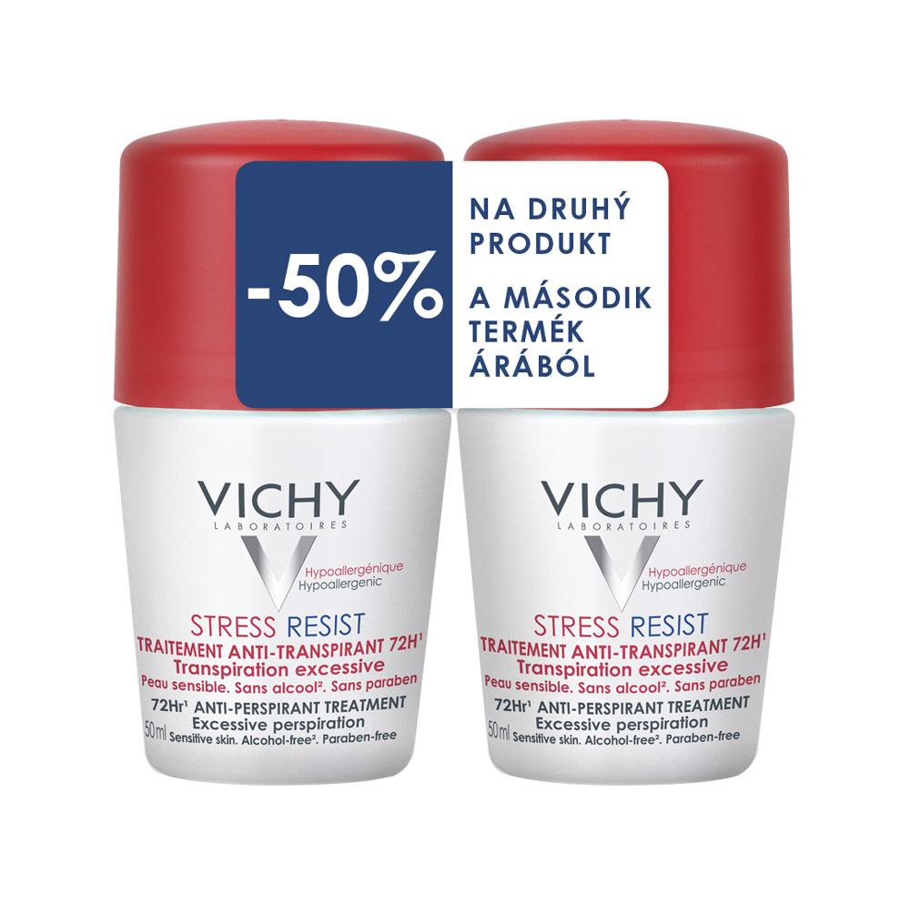 Vichy Antiperspirant Stress Resist 72h proti nadměrnému pocení Roll-on 2x50ml