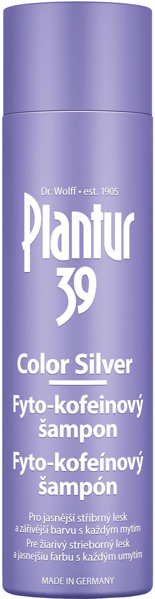 Plantur 39 Color Silver Fyto-Kofeinový šampón 250ml