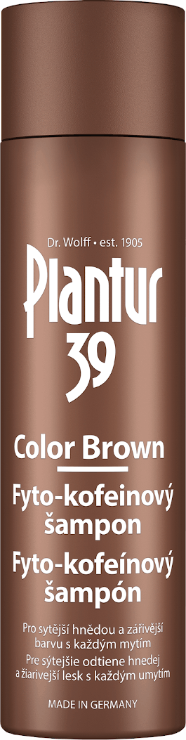 Plantur 39 Color Brown Fyto-kofeínový šampón 250ml
