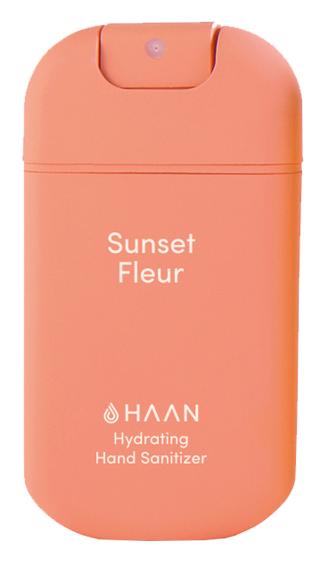 HAAN Sunset Fleur čistiaci sprej na ruky s antibakteriálnym účinkom 30ml