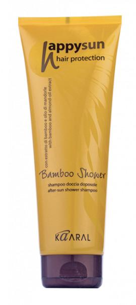 Kaaral Bamboo shower - Bambusový šampón na vlasy a telo 250ml