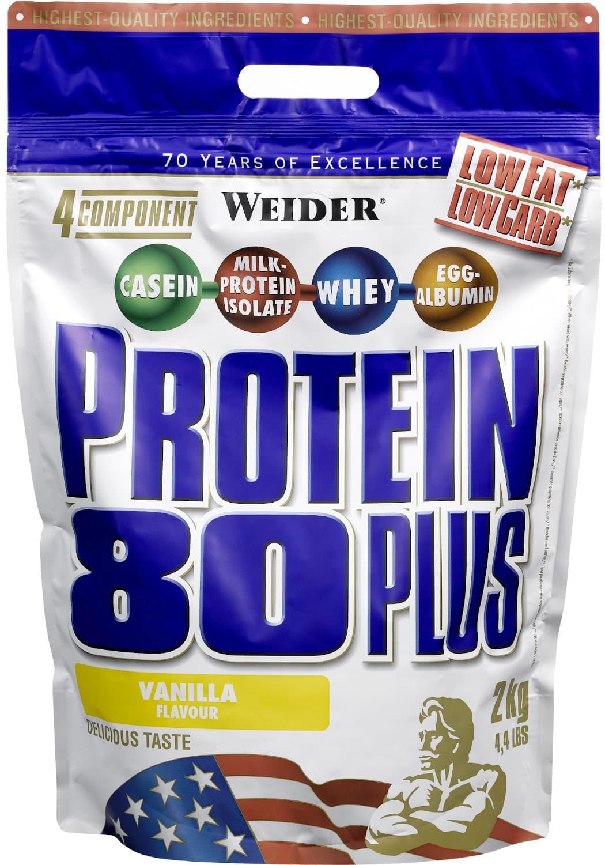 Weider Protein 80 Plus Banán 2000g